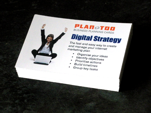 Digital Strategy Planning Cards