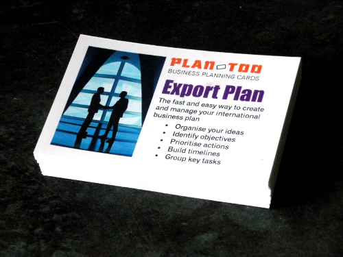 Export planning cards